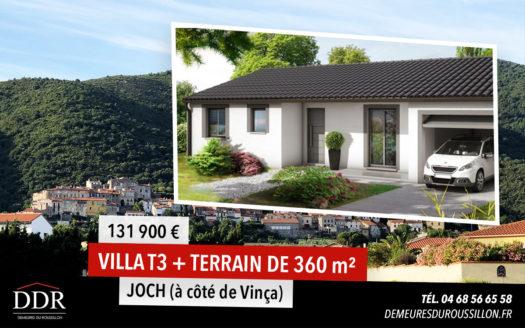 MAISON2 JOCH DDR • DDR • Constructeur de maison Perpignan - Pyrénées-Orientales et Aude